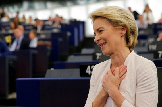 """""""Reuters""""/""""Scanpix"""" nuotr./Ursula von der Leyen"""