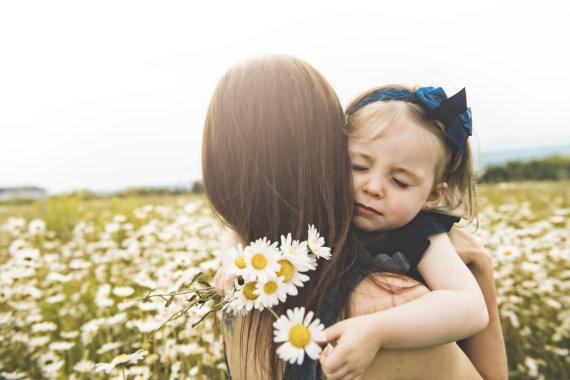 123RF.com nuotr./Mama su dukra
