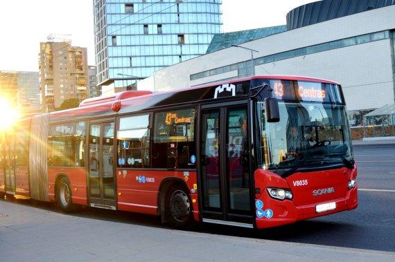 """""""Susisiekimo paslaugos"""" nuotr./Keisis viešojo transporto eismo tvarkaraščiai"""