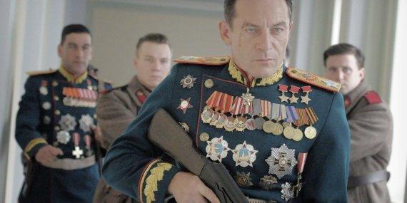 """Kadras iš filmo/Kadras iš filmo """"Stalino mirtis"""""""