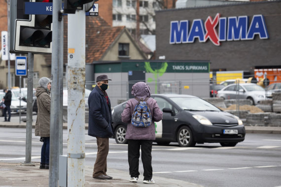 Luko Balandžio / 15min nuotr./Trečioji karantino savaitė Vilniuje