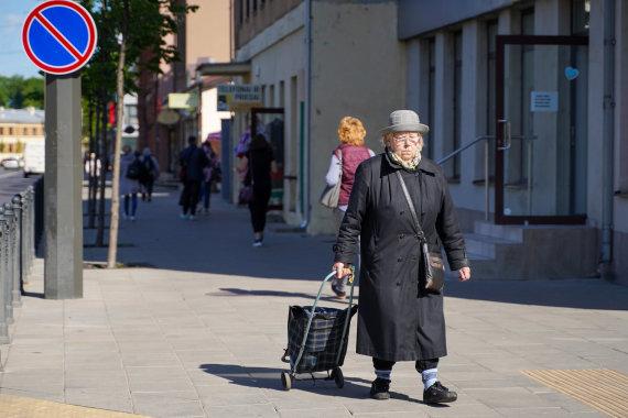Justinos Lasauskaitės / 15min.lt nuotr./Senjorai mieste