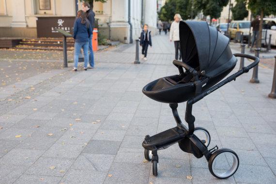 Žygimanto Gedvilos / 15min nuotr./Eduardo Fedotovo sukurtas vežimėlis