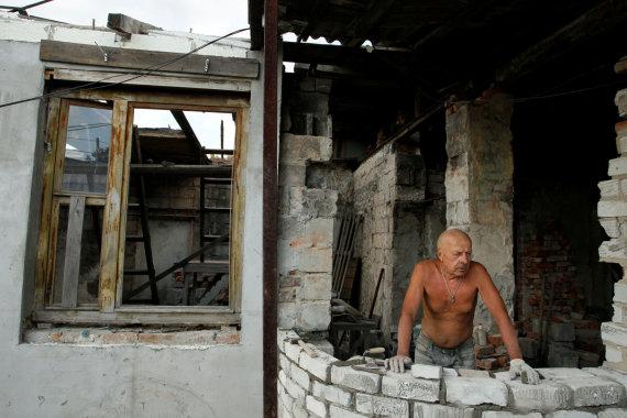 """Reuters""/""Scanpix"" nuotr./Separatistų kontroliuojamo Donecko kasdienybė"