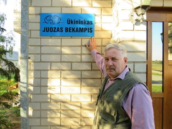 Valentino Daubaro nuotr./Juozo Bekampio ūkis Kūlokų kaime