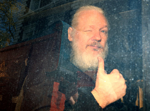 """Reuters""/""Scanpix"" nuotr./Suimtas Julianas Assange'as"
