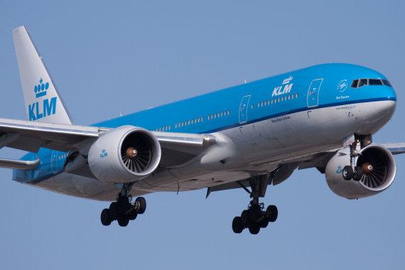 """""""Wikimedia Commons"""" nuotr./KLM """"Boeing 777-200ER"""""""