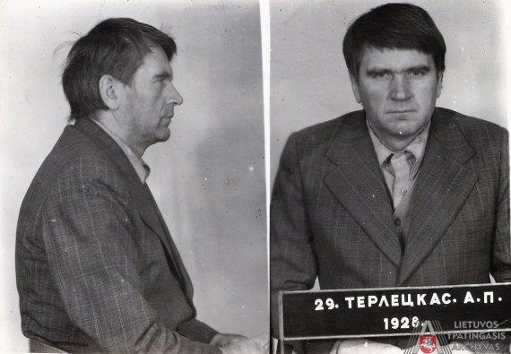 Lietuvos ypatingojo archyvo nuotr./Antanas Terleckas KGB tardymo izoliatoriuje