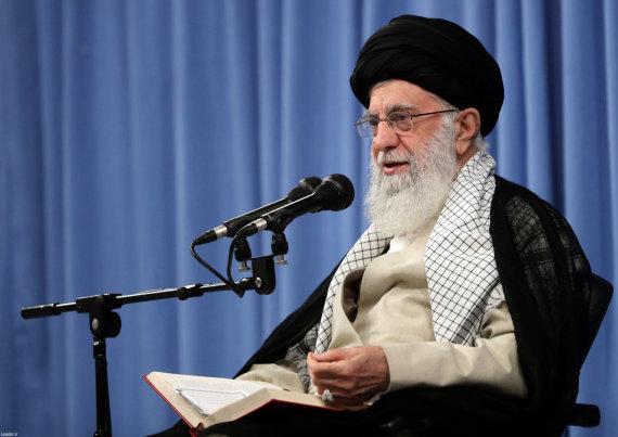 "AFP/""Scanpix"" nuotr./Ali Khamenei"