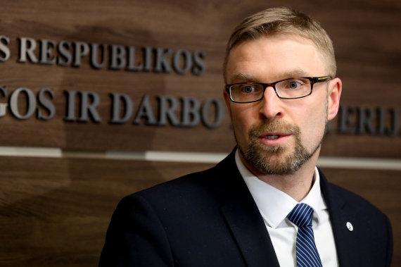 Vidmanto Balkūno / 15min nuotr./Socialinės apsaugos ir darbo ministras Linas Kukuraitis