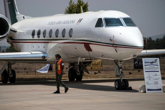 "AFP/""Scanpix"" nuotr./""Gulfstream G550"""