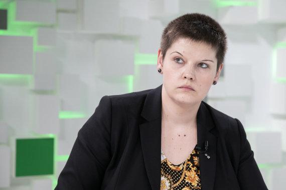 Luko Balandžio / 15min nuotr./15min studijoje – Živilė Simonaitytė ir Nerijus Mačiulis