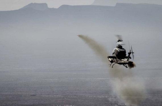 """AFP/""""Scanpix"""" nuotr./Irano karinės pratybos prie Hormūzo sąsiaurio"""