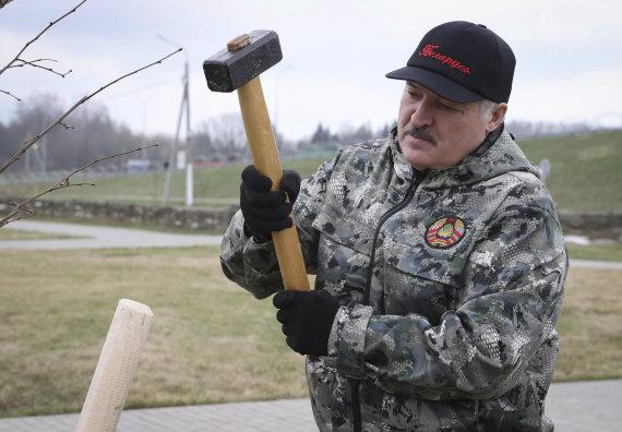 """Scanpix""/AP nuotr./Aliaksandras Lukašenka"