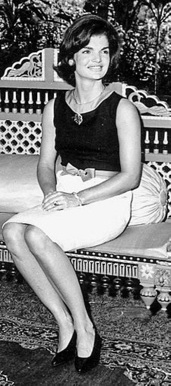 wikimedia.org nuotr./Jacqueline Kennedy, 1962 m.