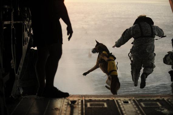 """""""Reuters""""/""""Scanpix"""" nuotr./JAV specialiųjų pajėgų kariai"""