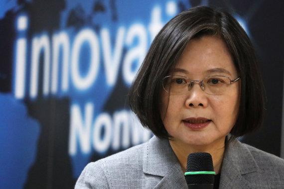 """Reuters""/""Scanpix"" nuotr./Tsai Ing-wen"