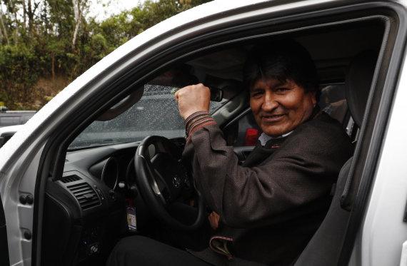 """""""Scanpix""""/AP nuotr./Evo Moralesas"""