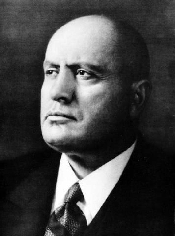 """Nuotr. iš """"Wikipedia""""/Benito Mussolini"""