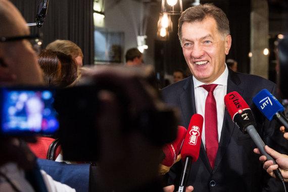 Luko Balandžio / 15min nuotr./Lietuvos socialdemokratų partija