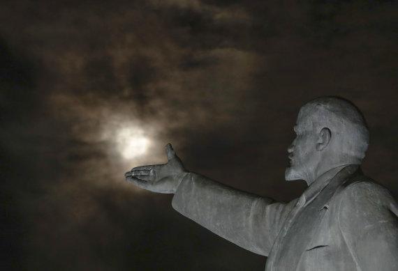 """""""Scanpix""""/AP nuotr./Lenino statula"""