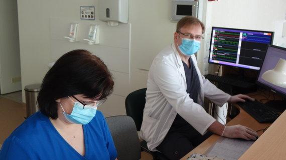 Asmeninė nuotr./Panevėžio ligoninės gydytojas anesteziologas Arūnas Valikonis