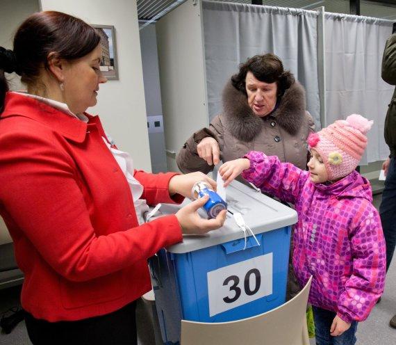 """Scanpix""/AP nuotr./Parlamento rinkimai Estijoje"