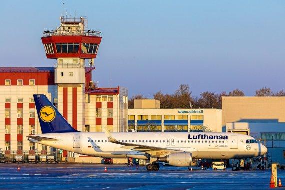 "Bendrovės nuotr./Oro bendrovės ""Lufthansa"" lėktuvas"