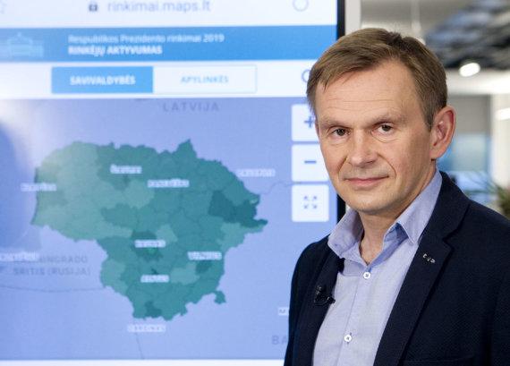 Valdo Kopūsto / 15min nuotr./15min vyriausiasis redaktorius Raimundas Celencevičius