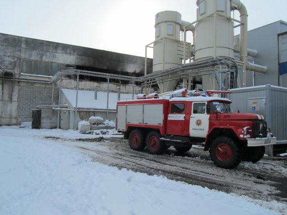 Po sprogimo Radviliškio įmonėje