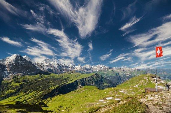 123rf.com nuotr./5. Šveicarija