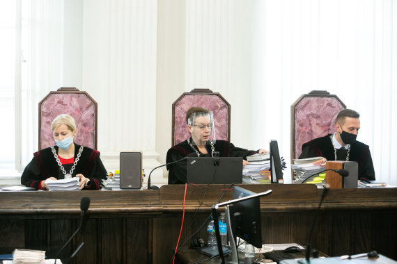 "Žygimanto Gedvilos / 15min nuotr./""MG Baltic"" bylos nagrinėjimas teisme"