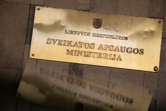 Žygimanto Gedvilos / 15min nuotr./Sveikatos apsaugos ministerija