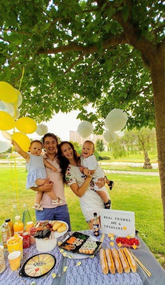 Asmeninio archyvo nuotr./Kristina ir Ivanas su vaikais