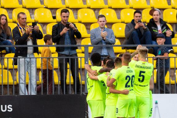 """Žygimanto Gedvilos / 15min nuotr./UEFA Europos lygos atranka: """"Riteriai"""" – """"Klaksvik"""""""""""