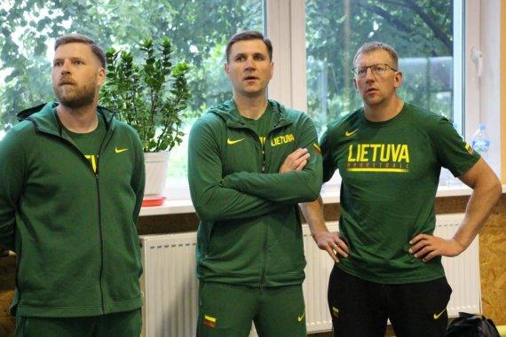 LKF nuotr./Gediminas Petrauskas ir jo padėjėjai