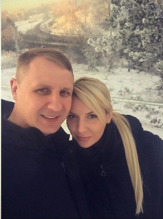 Asmeninio albumo nuotr./Andrius Šedžius ir Monika Šedžiuvienė