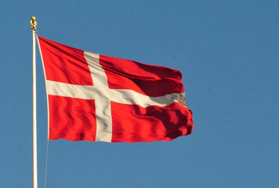 Andriaus Vaitkevičiaus/15min.lt nuotr./Danijos vėliava