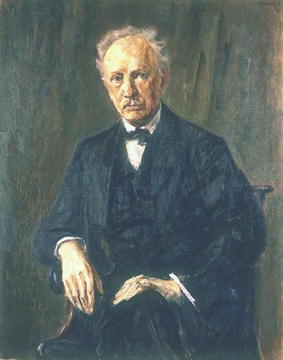 Maxo Libermanno paveikslas/Richardas Straussas