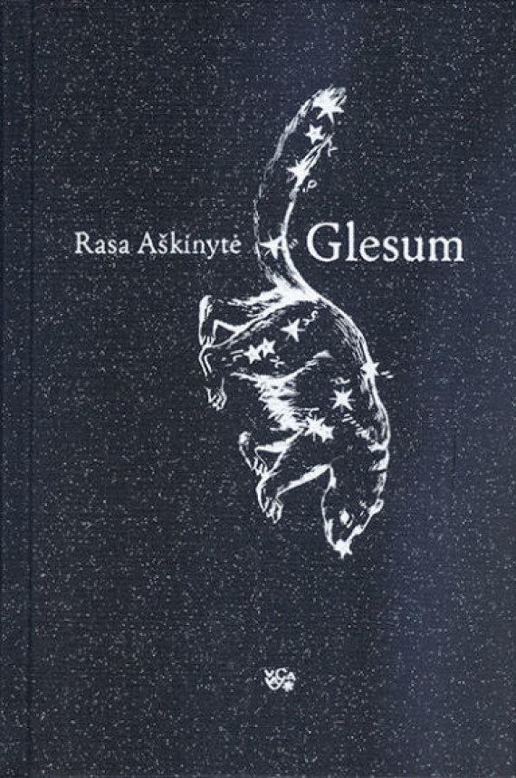 """Knygos viršelis/Knygynų lentynas pasiekė naujausias Rasos Aškinytės, """"Metų knygos 2014"""" laureatės romanas """"Glesum""""."""