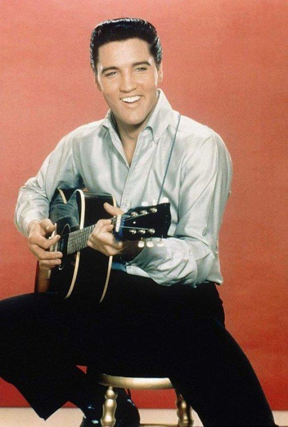 """Scanpix"" nuotr./Elvis Presley"