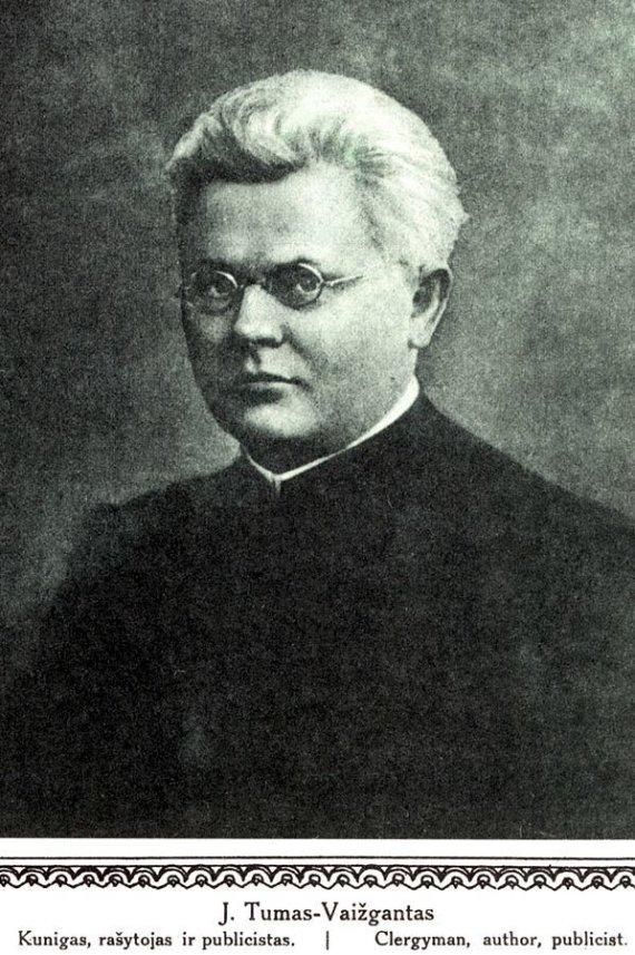 Wikipedia.org nuotr./Juozas Tumas-Vaižgantas