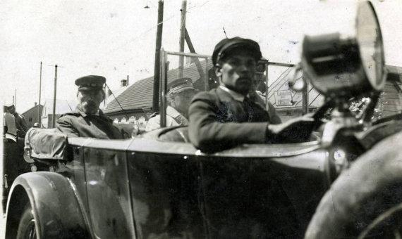 epaveldas.lt nuotr. /Antanas Smetona apie 1931 m. Kretingoje