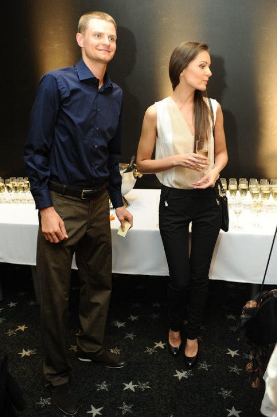 Luko Balandžio nuotr./Renaldas Seibutis su žmona Dovile