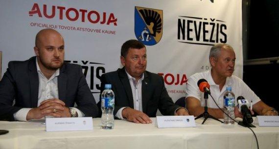 LKL nuotr./Aurimas Žemaitis ir Virginijus Bulotas