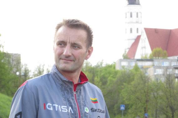 Alvydo Januševičiaus nuotr./Šiauliuose visuomenė bėgo kartu su meru