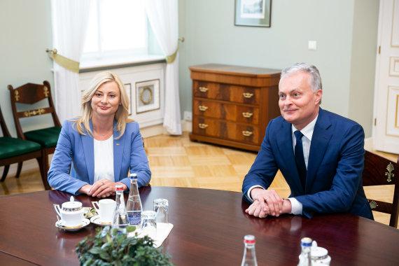 Žygimanto Gedvilos / 15min nuotr./Rita Tamašunienė ir Gitanas Nausėda