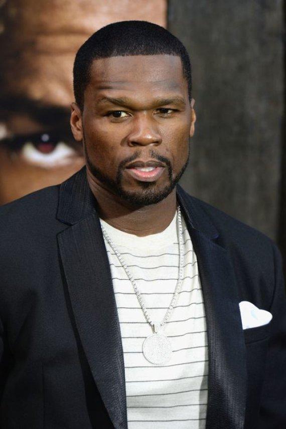 """AFP/""""Scanpix"""" nuotr./Reperis 50 Cent"""