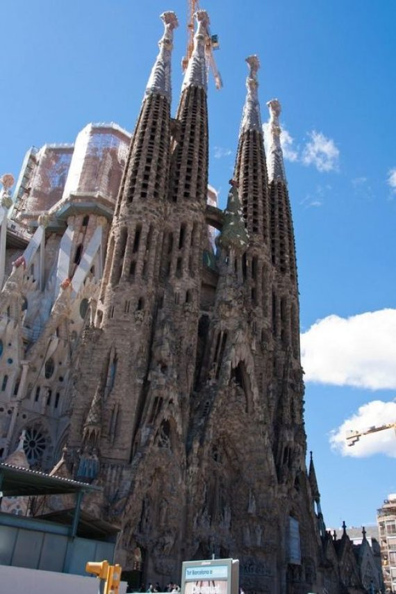 D. Smagurauskaitės nuotr./Sagrada Familia