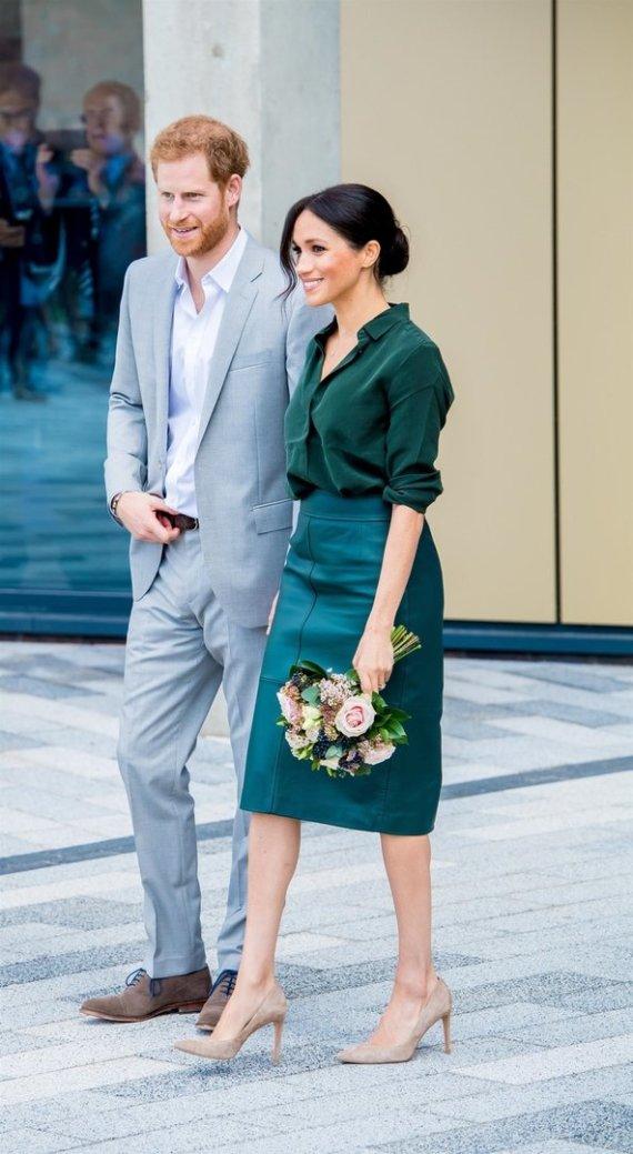 Vida Press nuotr./Princas Harry ir Meghan Markle